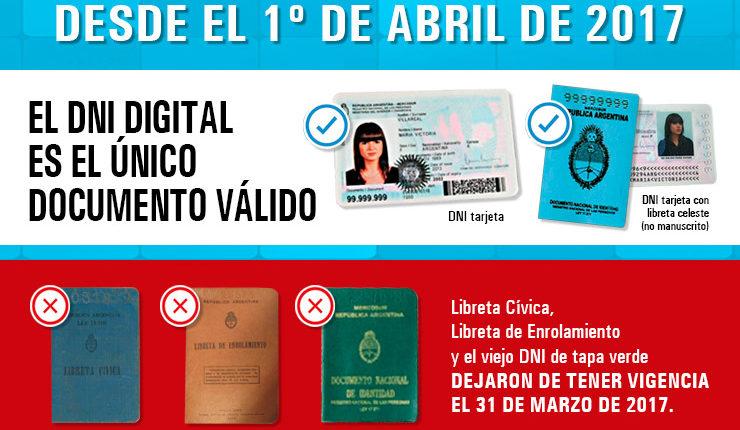 El DNI digital ya es el único documento válido